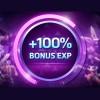 Bônus de 100% de Experiência (de novo)!