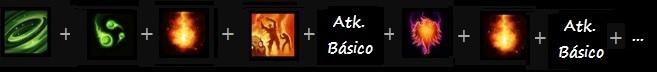Novo combo kael com potencialização atk