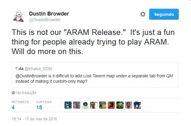 not aram release