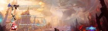 Conflito Eterno: O Campo de Batalha da Eternidade