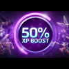 Bônus de 50% de Experiência!
