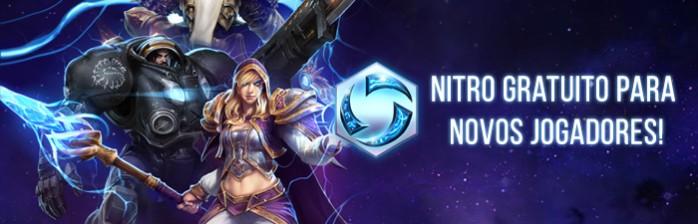 Nitro gratuito para novos jogadores!