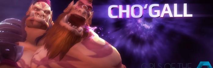 [BlizzCon 2015] Novo Herói: Cho'Gall