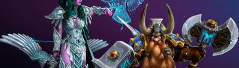 Duplas Heroicas: Tyrande e Muradin
