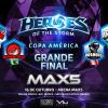 Final Anual da Copa América na MAX5